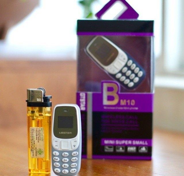 Điện Thoại 3310 BM10 Siêu Nhỏ 2 Sim Tiện Lợi