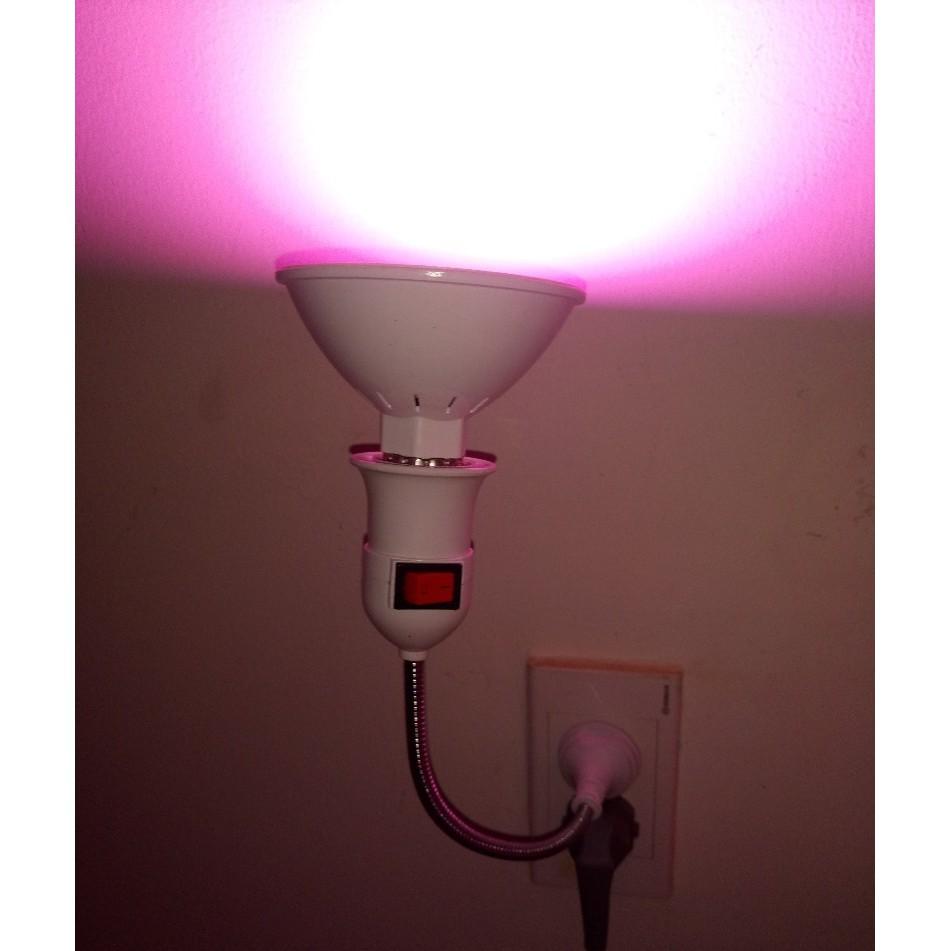 Đui Đèn Uốn Dẻo 360 Độ Có Công Tắc 20cm