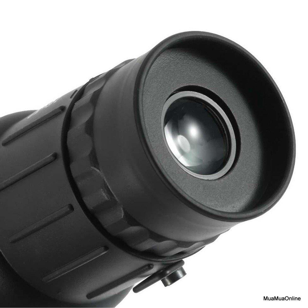 Ống Nhòm Một Mắt Siêu Nét Bushnell Monocular 16x52 66m/8000m Cao Cấp + Tặng Kèm Túi Đựng