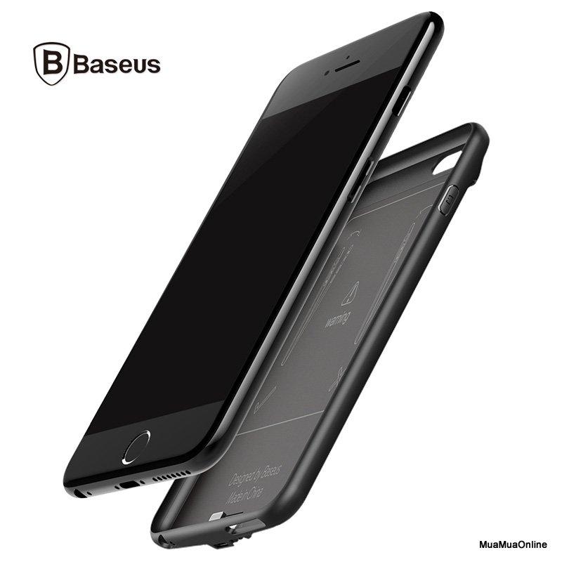 Ốp Lưng Tích Hợp Pin Sạc Dự Phòng Baseus Cho Iphone 6 / 6S 5000Mah