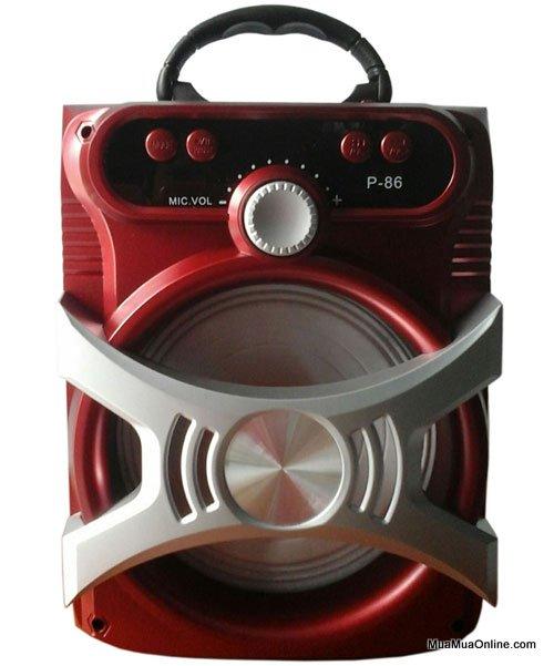 Loa Bluetooth Karaoke Xách Tay P86, P87, P88, P89 Tặng Kèm Mic Cực Hay