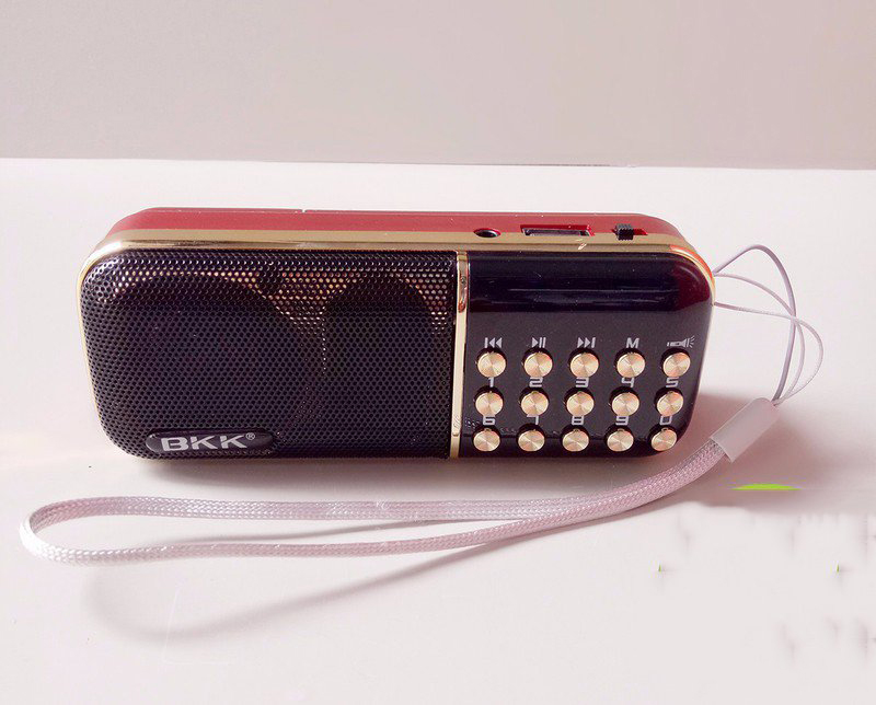 Loa Nghe Nhạc Usb Thẻ Nhớ Fm Bkk K51