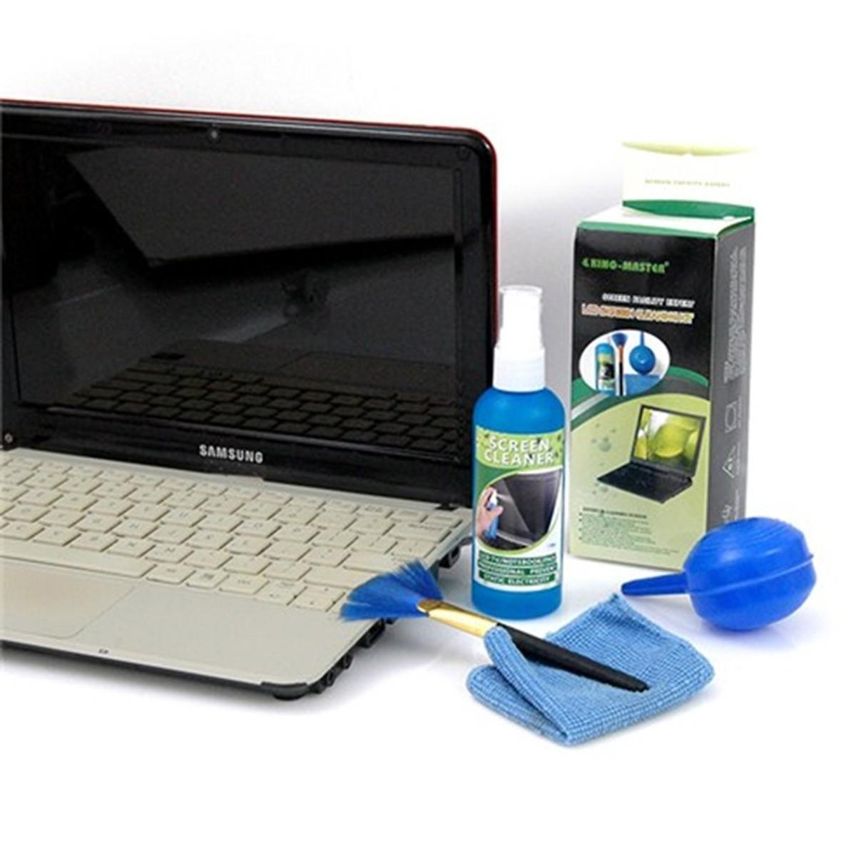 Bộ Vệ Sinh Máy Tính Laptop 4 Món KingMaster