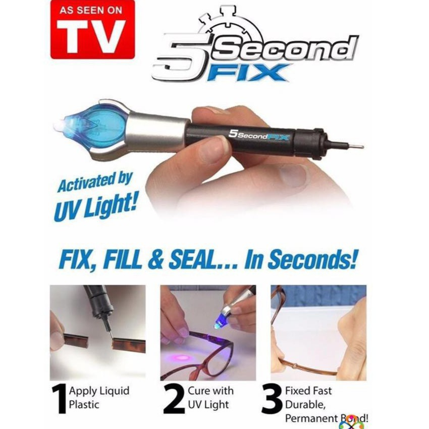 Keo 5 Second Fix Hàn Gắn Mọi Thứ Chỉ Trong 5 Giây