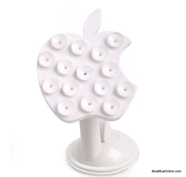 Giá Đỡ Điện Thoại 16 Chấu Hình Táo Apple Xoay 360 Độ