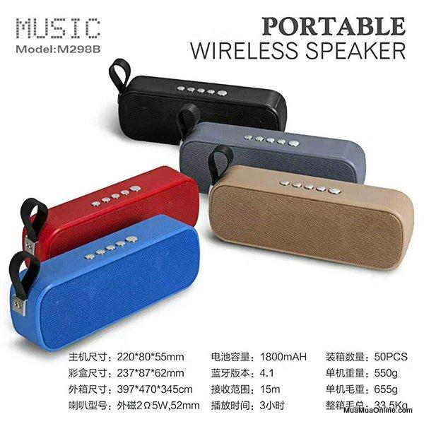 Loa Nghe Nhạc Bluetooth Jbl M298 Nghe Hay