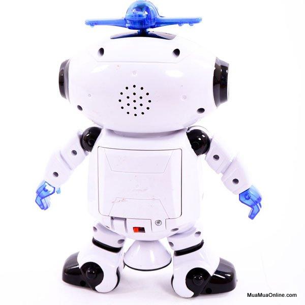 Đồ Chơi Robot Nhảy Múa Xoay 360 Độ