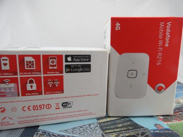 Bộ Phát Wifi Từ Sim 3G/4G Lte Vodafone R216 Tốc Độ Cao 150Mbps