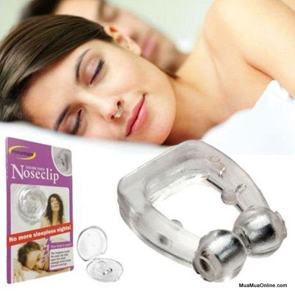 Combo 2 Dụng Cụ Chống Ngáy Ngủ Noseclip