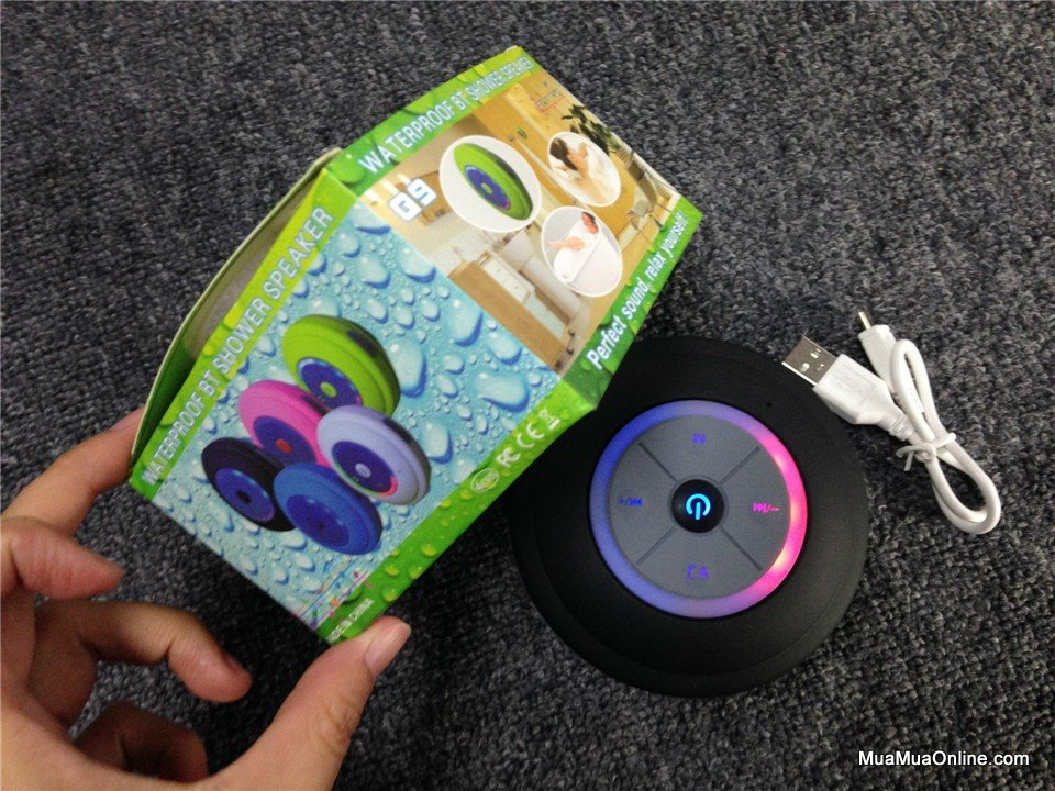Loa Nghe Nhạc Bluetooth Q9 Có Đế Hít