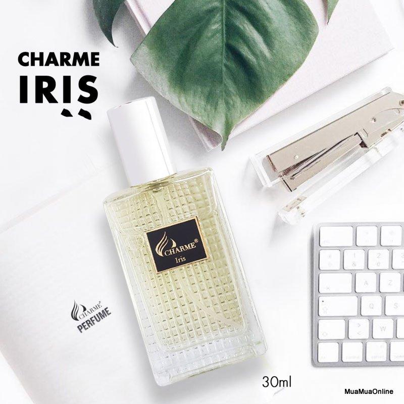 Nước Hoa Nam Charme Iris 30Ml