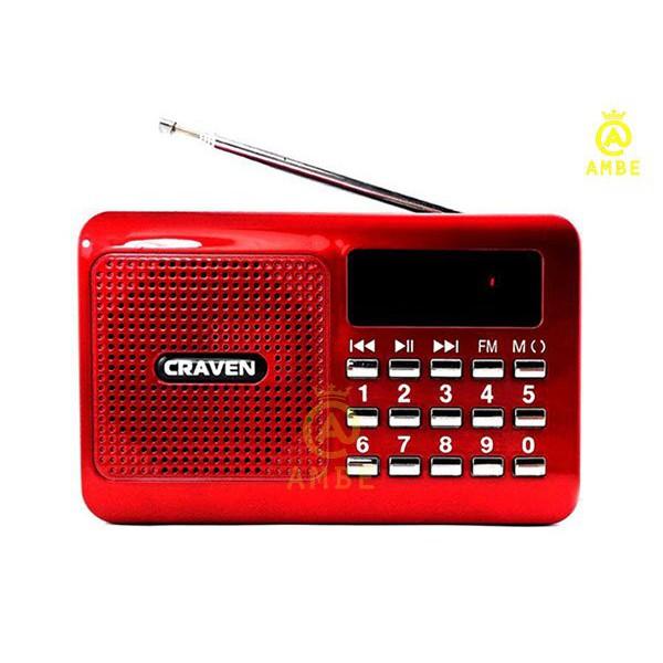 Loa Nghe Nhạc Usb Thẻ Nhớ Fm Craven Cr-16