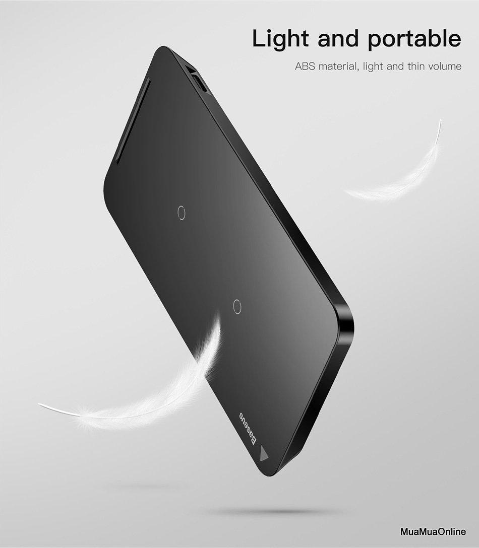 Đế Sạc Không Dây Đa Năng Baseus Cho Iphone 8/ Iphone X / Samsung S8/ S9/ Note 8