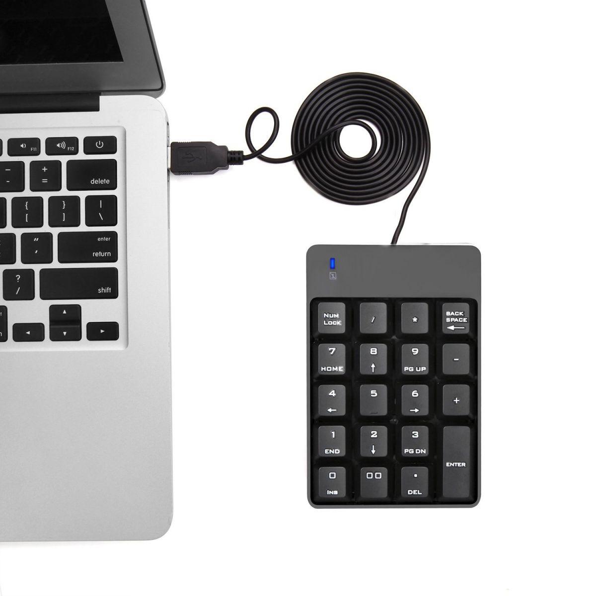 Bàn Phím Số Rời Cổng Usb Chuyên Dùng Cho Laptop, Máy Tính