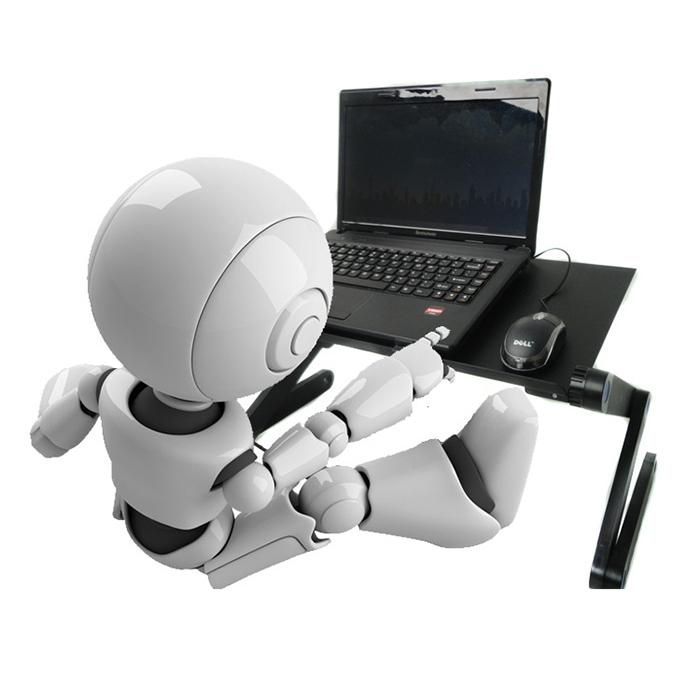 Bàn Để Máy Tính Laptop Có Lưới Tản Nhiệt Điều Chỉnh Độ Cao 360 Độ Gấp Gọn Cao Cấp