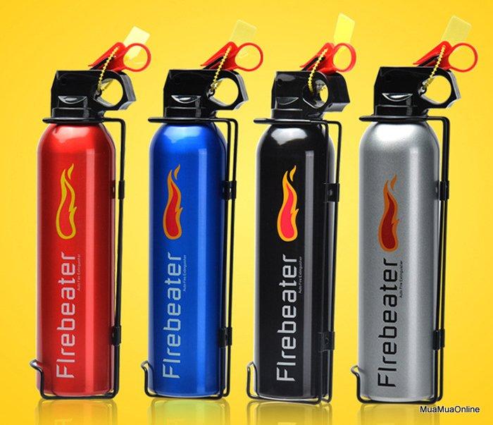 Bình Chữa Cháy Mini Flamebeater Dùng Cho Ô Tô Cao Cấp