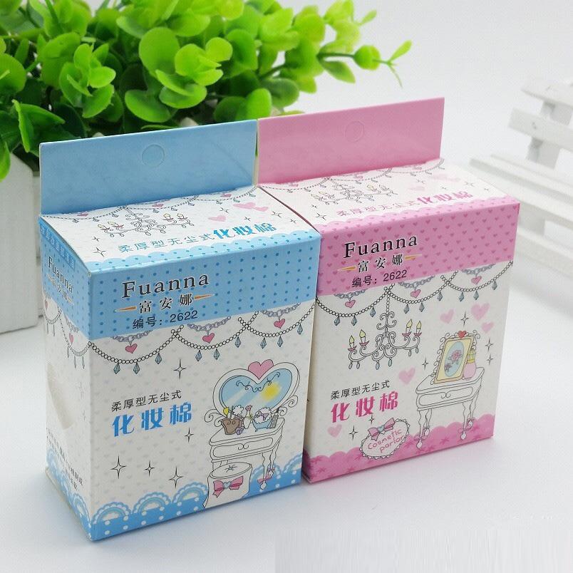 Hộp Bông Tẩy Trang Mini Fuanna 65 Miếng