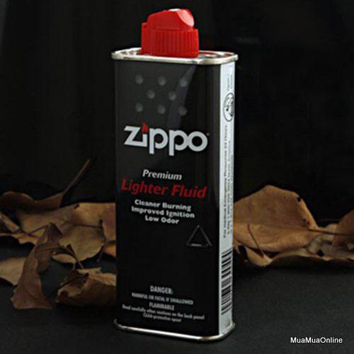 Bình Bơm Cho Hộp Quẹt Zippo 133ml Cao Cấp