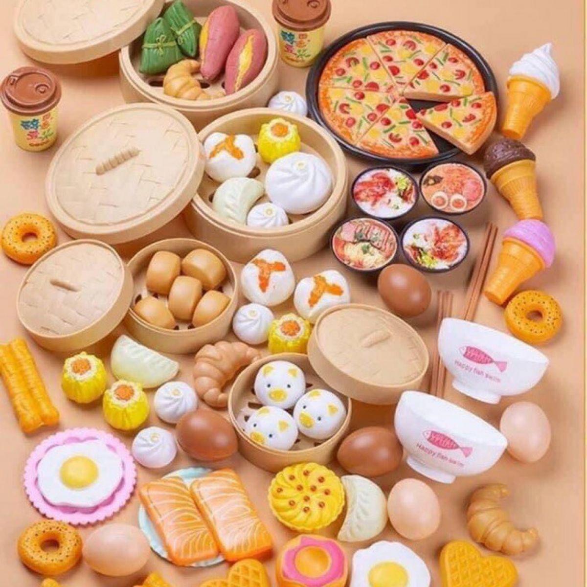 Bộ Đồ Chơi Nấu Ăn 84 Món Cho Bé