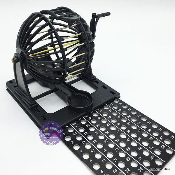 Bộ Đồ Chơi Lô Tô Bingo Machine YF397 Cao Cấp
