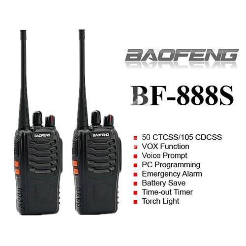 Bộ 2 Bộ Đàm Baofeng BF-888S Full Phụ Kiện