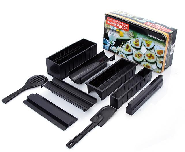Bộ Dụng Cụ Làm Sushi 11 Món Tặng Kèm Dao Tiện Lợi