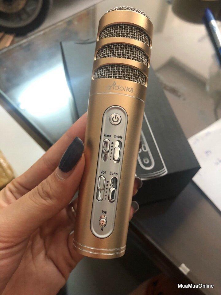 Bộ Micro Thu Âm C6 Tích Hợp Livestream Cao Cấp