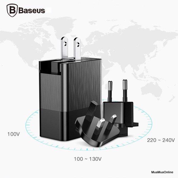 Bộ Sạc Đa Năng Baseus Duke Universal 3 Port Usb