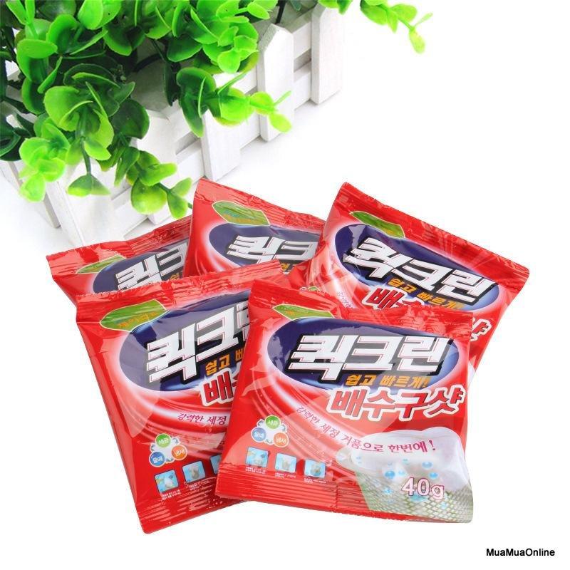 Bộ 5 Gói Bột Thông Cống Hàn Quốc Cao Cấp