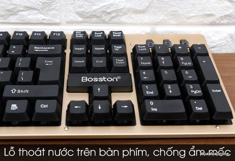 Bộ Chuột Và Bàn Phím Chuyên Game Không Dây BOSSTON WS400 Dòng Cao Cấp
