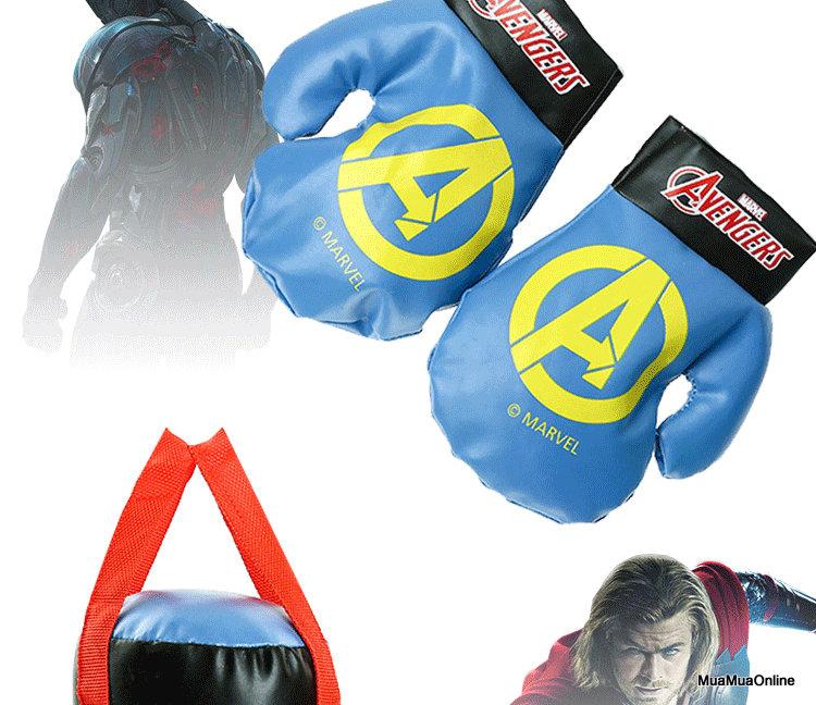 Bao Bố Tập Boxing Kèm Găng Tay Cho Bé