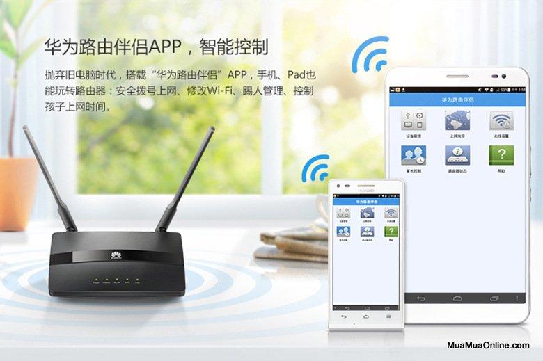 Bộ Phát Wifi Huawei Ws318 2 Anten Chính Hãng