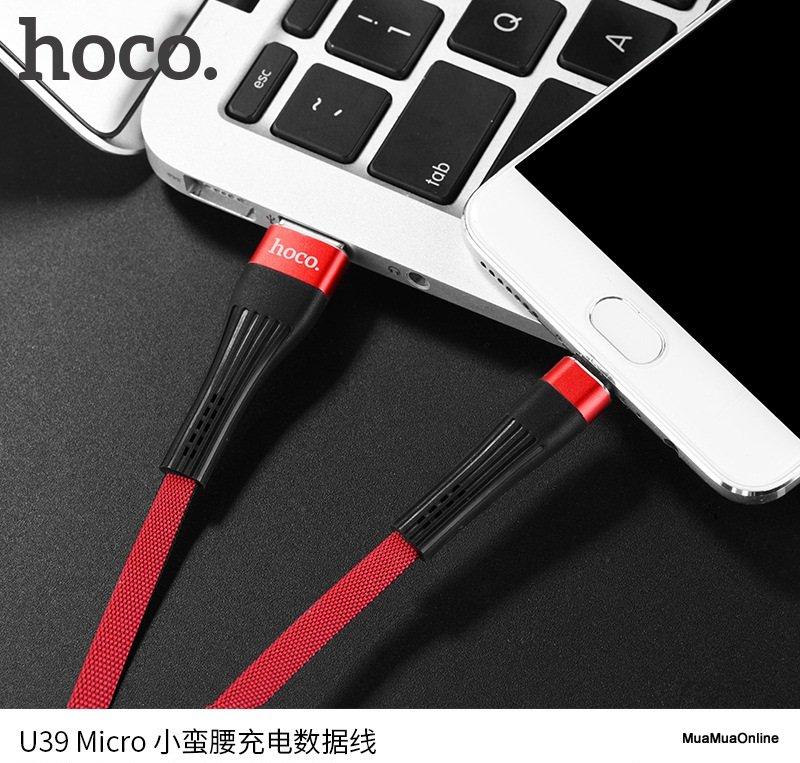 Cáp Sạc Micro USB Hoco U39 Cao Cấp