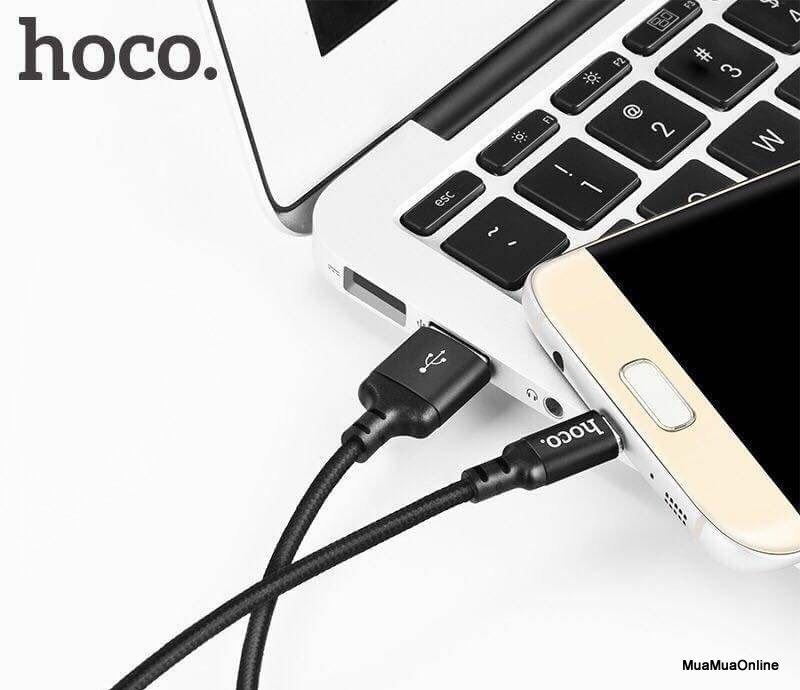 Cáp Sạc Micro USB Hoco X14 1M