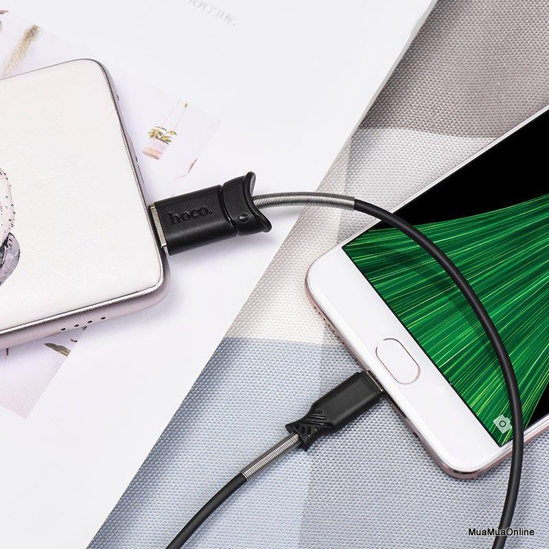 Cáp Sạc Micro USB Hoco X24 1m