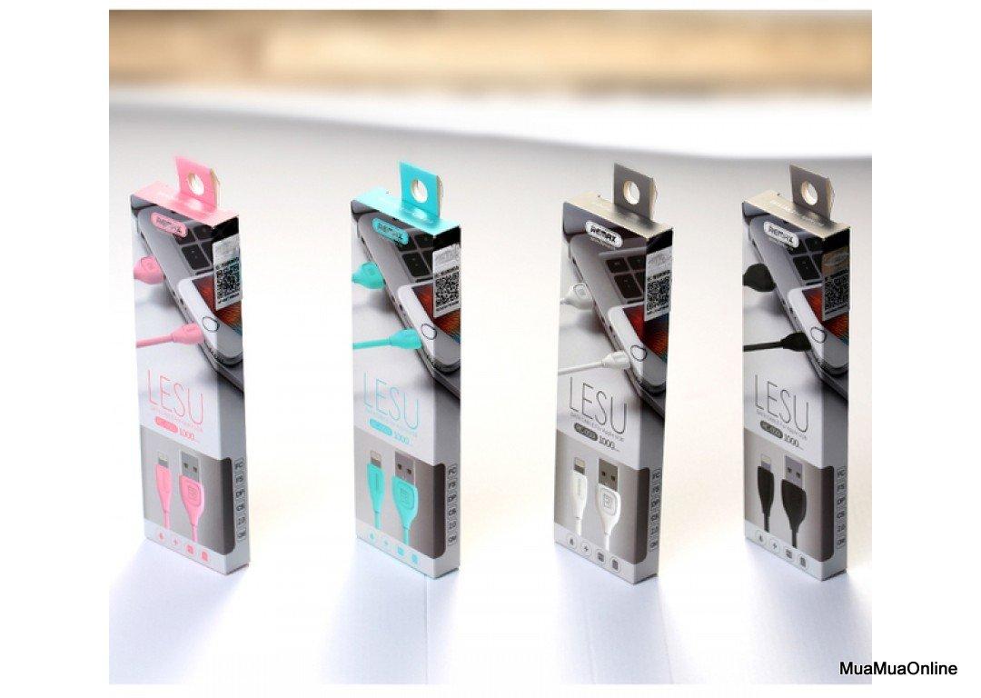 Cáp Sạc Remax Lesu Cổng Lightning Cho Iphone Cao Cấp