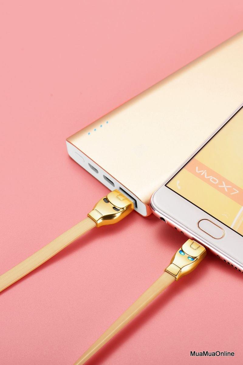 Cáp Sạc Micro Usb Hoco U14 Cho Samsung 1,2M
