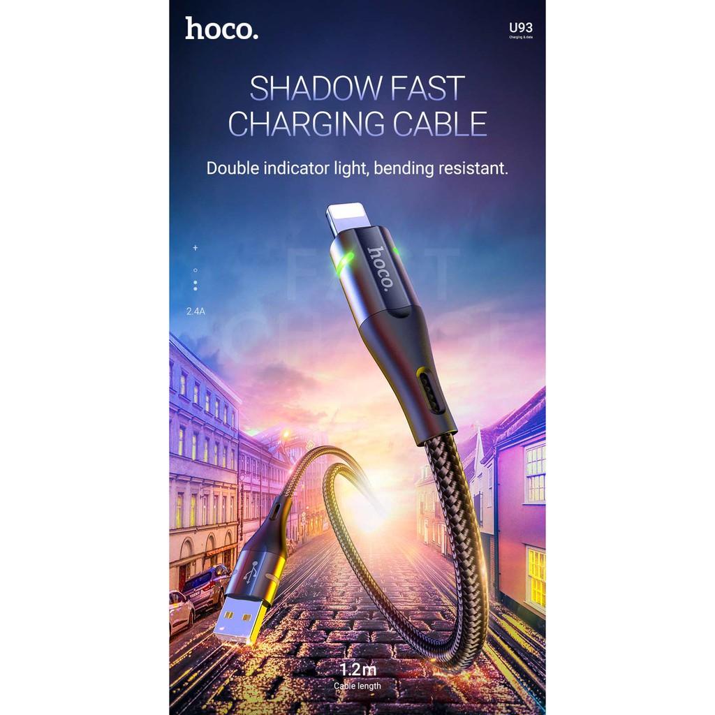 Cáp Sạc Hoco U93 Cổng IP