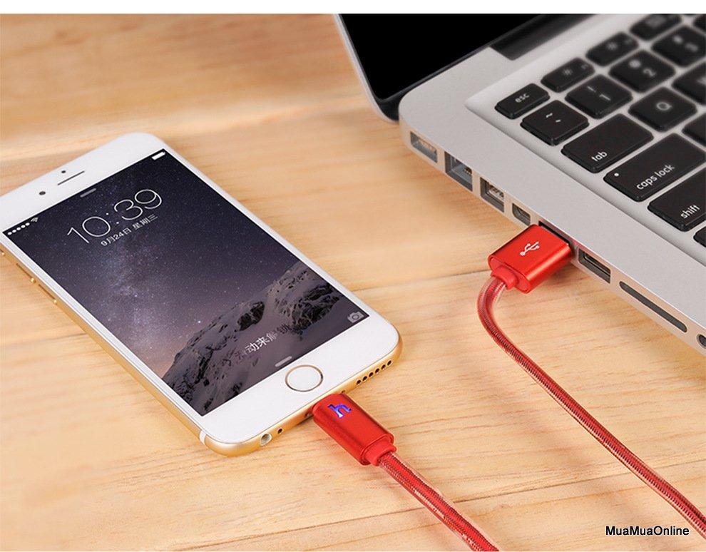 Cáp Sạc Lightning Hoco Upl12 30Cm Cho Iphone