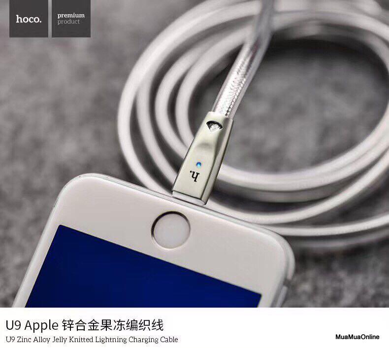 Cáp Sạc Lightning Hoco U9 Cho Iphone Cao Cấp
