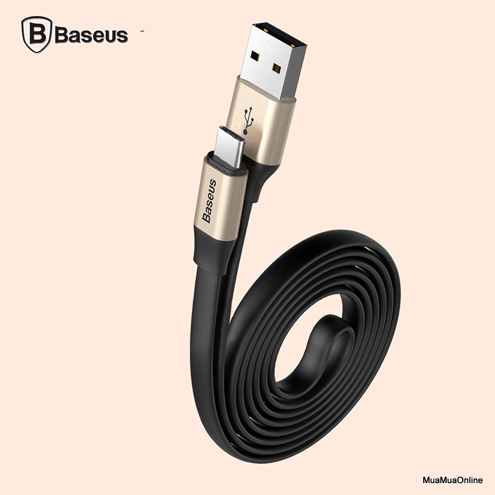 Cáp Sạc Nhanh Baseus Usb Type C (23Cm / 120Cm, Hỗ Trợ Quick Charge 3.0)