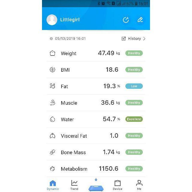 Cân Đo Sức Khỏe Thông Minh Cao Cấp Phân Tích Qua App CÁc Chỉ Số Cơ Thể Cân Nặng, BMI, Mỡ, Chất Béo, Lượng Nước, Xương, Tỉ Lệ Đạm, ..