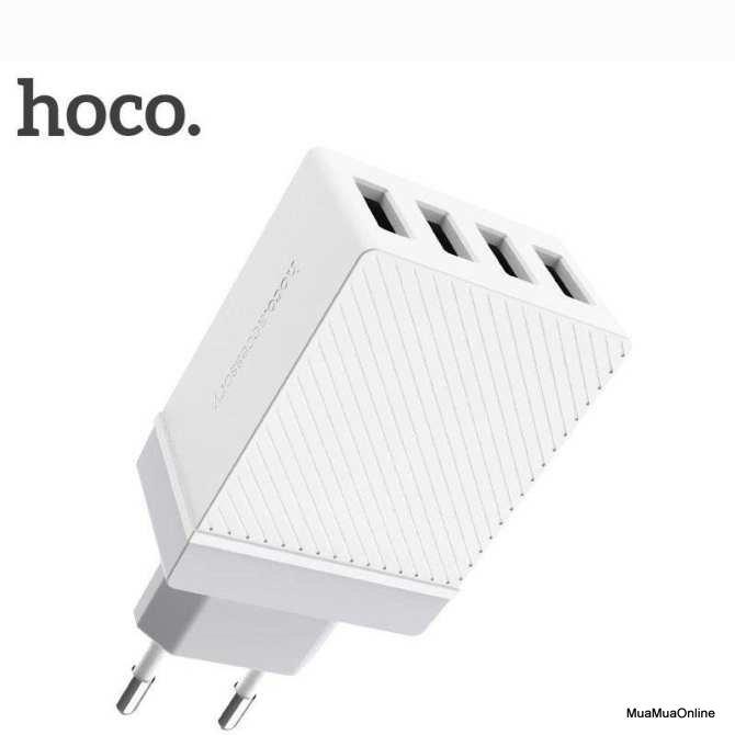 Cóc Sạc Hoco C23B 4 Cổng