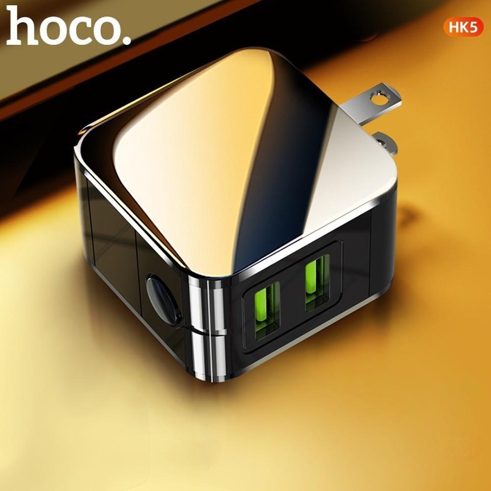 Cóc Sạc Tự Ngắt Hoco HK5