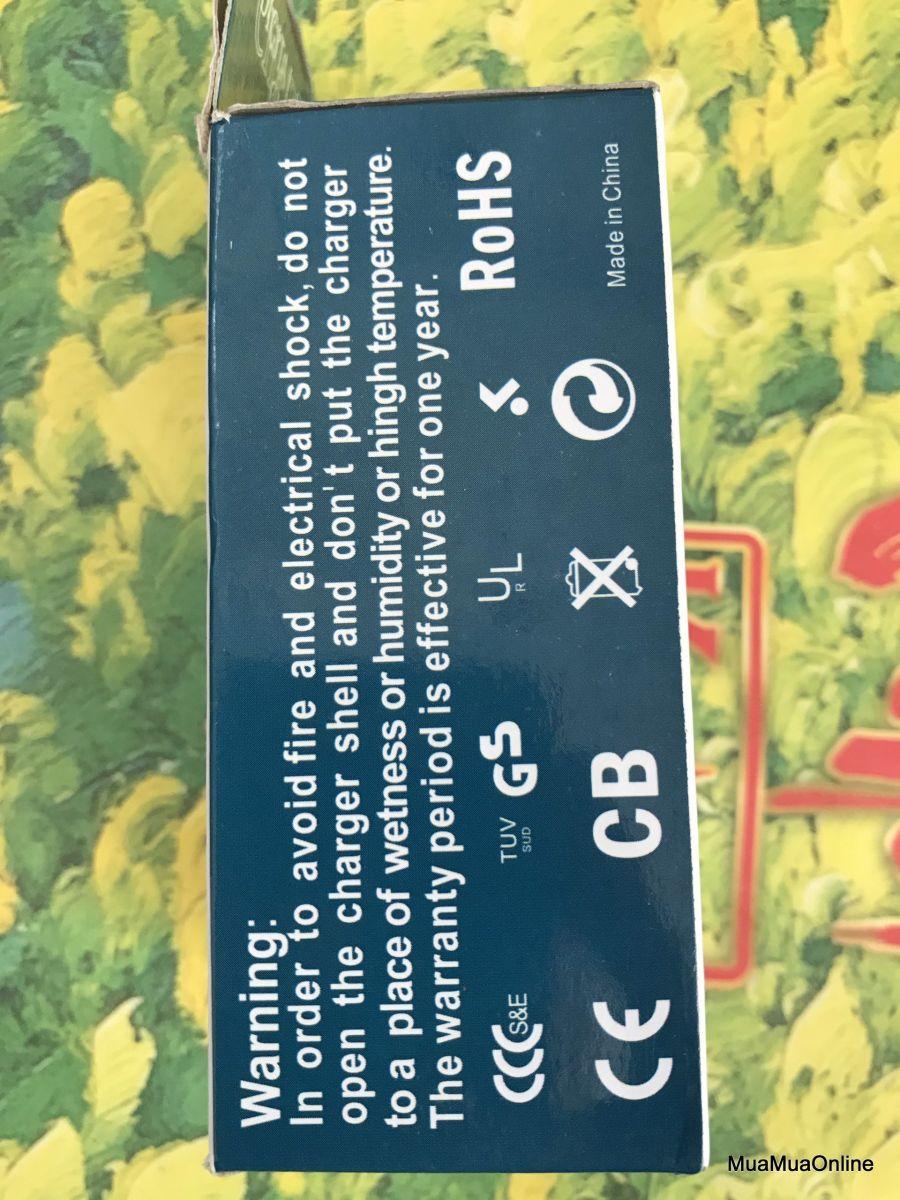 Cục Sạc Pin 3v7 4v2 Loại 2 Pin Cao Cấp