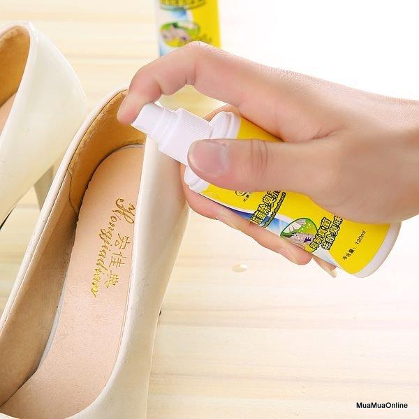 Chai Xịt Khử Mùi Giày Dép 120ml Cao Cấp