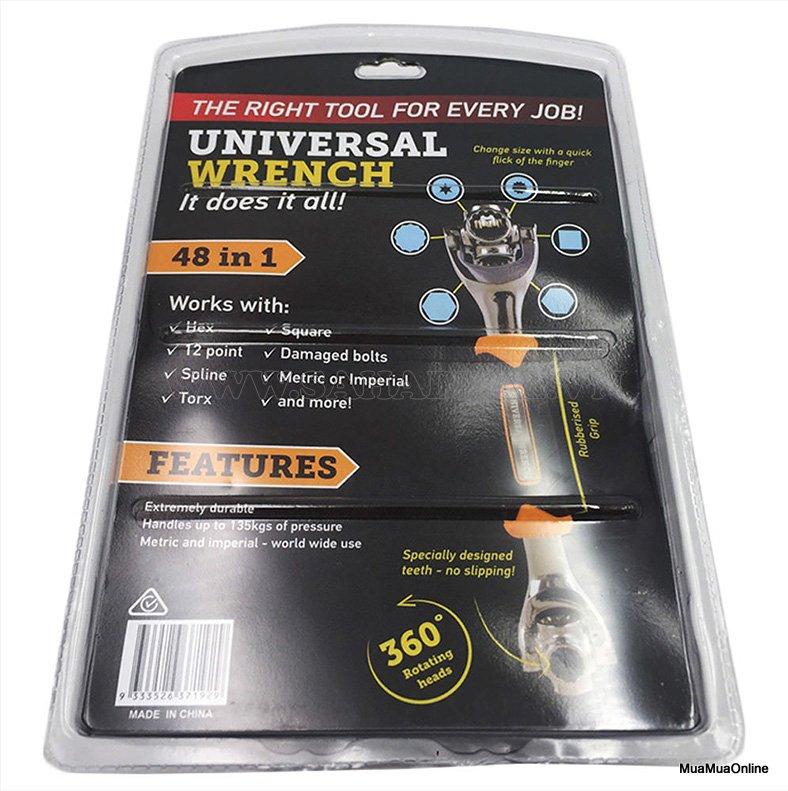 Dụng Cụ Sửa Chữa Universal 48 Trong 1 Xoay 360 Độ Đa Năng