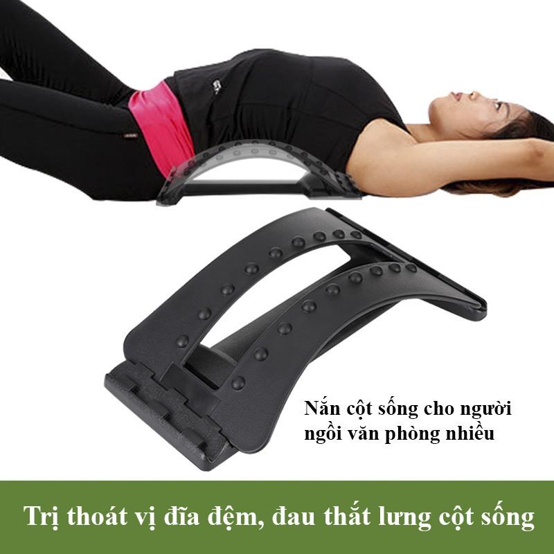 Dụng Cụ Hỗ Trợ Tập Lưng, Massage Lưng Và Cột Sống