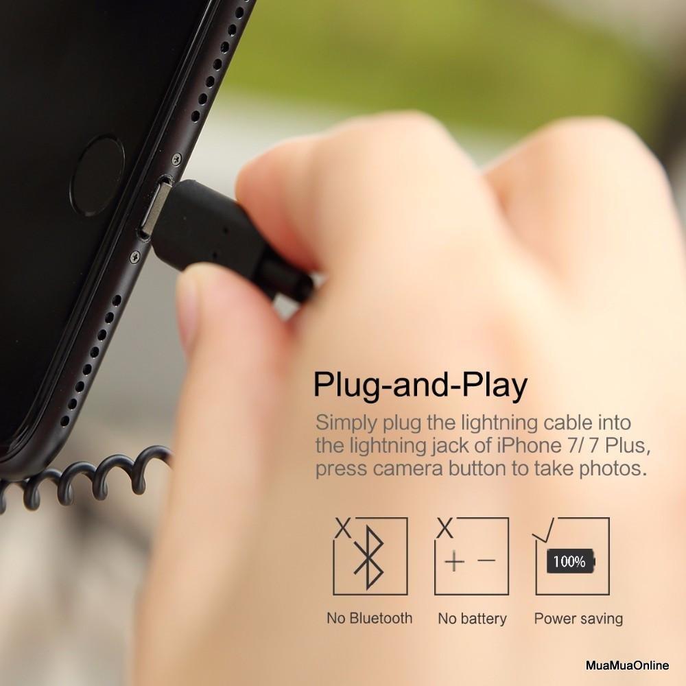 Gậy Tự Sướng Cổng Lightning Cho IPhone Cao Cấp