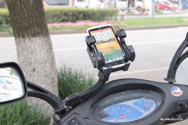 Giá Đỡ Điện Thoại, Smartphone Trên Tay Lái Mô Tô, Xe Máy Mobile Holder